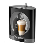 Cafetera Dolce Gusto Oblo Moulinex Pv1106 Negra
