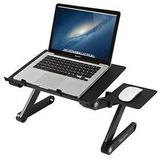 Mesa Cooler Plegable Laptop Mesa+2 Ventilador+base Mouse
