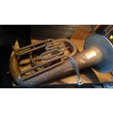 Tuba De Cobre Wagner Y Levien De Principios Siglo 20