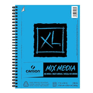 Canson Xl Mix Media Cuaderno De Dibujo Sketchbook 18 X 25cmg