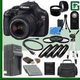 Canon Eos Rebel T3 Cámara Slr Digital Kit Con 18-55mm Is...