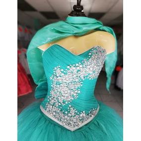 Vestido De Xv Años Color Verde Menta Azul Turquesa Vino