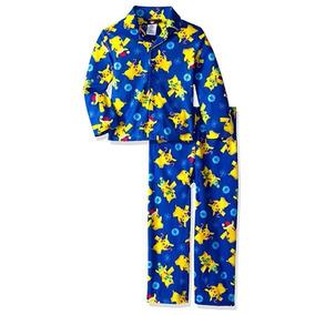 Pijama De Pokemon Para Niños Talla 6 Navideño