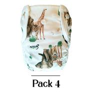 Pañales Ecológicos Grinnibe - Pack 4