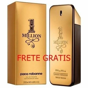 Perfume One Million 200ml + 4 Amostras Originais, Veja