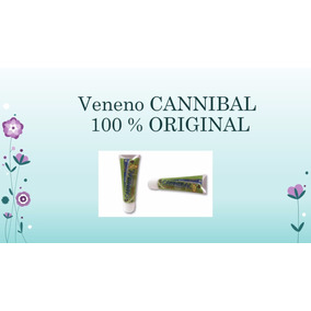 Veneno Para Cucaracha Cannibal 100% Original 1 Tubo