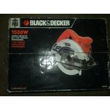 Sierra Circular Black Decker 1500 Watt