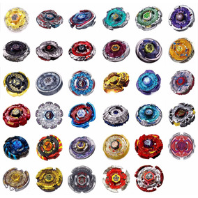 Kit 2 Beyblades Escolha Ferro+2 Speed+4 Pontas