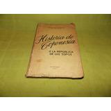 Historia De Toponesia - Feliciano Fuentes