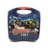 Avengers Lunchera Plastica 3 En 1 Nenes 35870 Educando