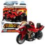 Juguete Motocicleta Transformers Rojo