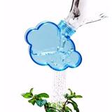 Regador Regadera Forma De Nube Agua Lluvia Para Botella Eco