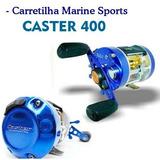 Carretilha Caster 400 Marine Sports Perfil Alto (direita)