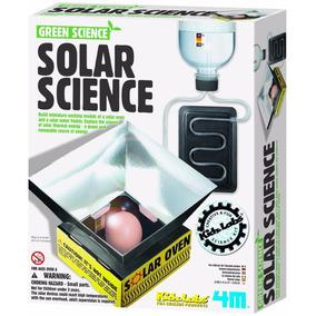 4m Kit Juego De Ciencia Verde Ciencia Solar - Giro Didáctico