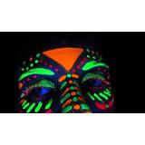Kit Pinta Cara Tinta Facial Neon/fluor 05 Cores