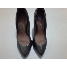 Sapato Social Feminino (santa Lolla) Ouro Velho 35 Salto 10