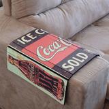 Esteira Para Sofá Estampada - Coca-cola - Bw