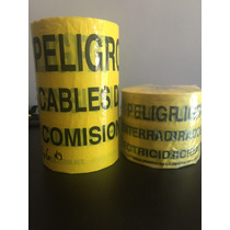 Cinta De Precaucion De Alta Tension Para Instalacion De Cfe