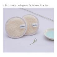 Eco Paños Demaquillantes Reutilizables De Higiene Facial 2 U
