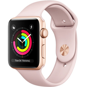 Apple Watch Series 3 Gps 38mm Gold Aluminum Case With Pink