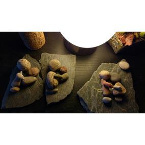 Cuadros Rústicos Artesanales Hechos En Piedras Y Lajas