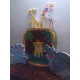 Combo De Piñata Fiesta La Guardia Del Leon