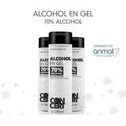 Alcohol En Gel Antibacterial Neutro Higienizante Manos 250ml