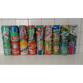 Latinhas De Refrigerantes Colecionáveis Antigas