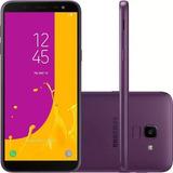 Celular Samsung J6 Galaxy Violeta 32gb Tela 5.6