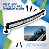 Barra Curva Led 240w 42 Pulg Resistente Al Agua