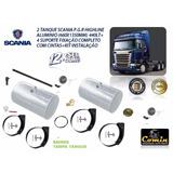 Kit Tanque Combustivel+suporte E Cintas Scania Serie-5/6