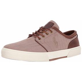 Tenis Polo Lauren Faxon Low Sneaker Kaki 8.5 Us