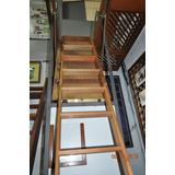 Escada Sotão-desvão De Madeira (pé Direito 2,76m Até 3,00m)