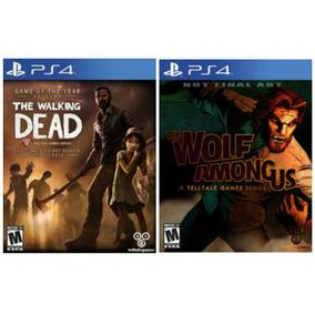 Walking Dead Y Wolf Amongs Us Cuenta Completa Digital Ps4