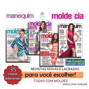 Revista Moda Molde Cia Manequim Roupa Costura Frete R$ 10,00