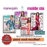 Revista Moda Molde Cia Manequim Roupa Costura Frete R$ 9,00