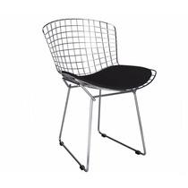 Cadeira Bertoia Cromada - 1 Ano De Garantia Defeito/fábrica