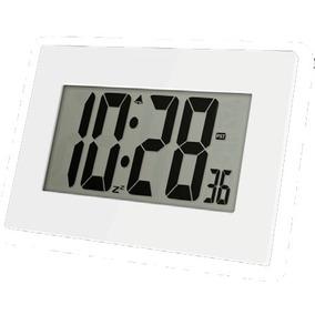 Reloj Digital De Pared O Mesa Luft Con Alarma Numeros Grande
