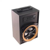 Rádio Amplificador Preto Pequeno - Fm/ Us S/juros S/frete