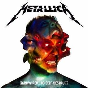 Cd Duplo Metallica Hardiwired To Self - Frete Grátis