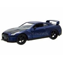 Nissan Gt-r (r35) Velozes E Furiosos 7 Jada Toys 1:32 97037