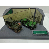 Set Jeep Sas + Willys Ambulancia Segunda Guerra Mundial 1/43