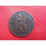 Gran Bretaña 1 Farthing 1891 Reina Victoria