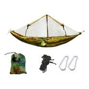 Hamaca Con Mosquitero Ultraliviana 190 Kg Pesca Camping