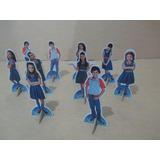 Kit 10 Chiquititas De Mesa,display,festa Infantil,mdf