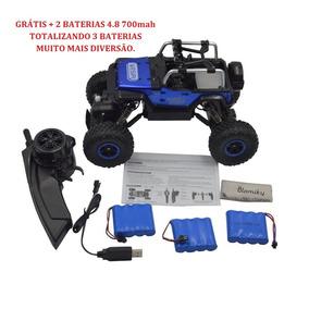 Carinho De Controle Remoto Rock Crawler Rc Car 4x4