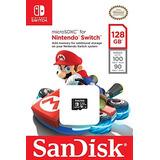 Sandisk 128gb Microsdxc Uhs-i Card For Nintendo Switch -sd