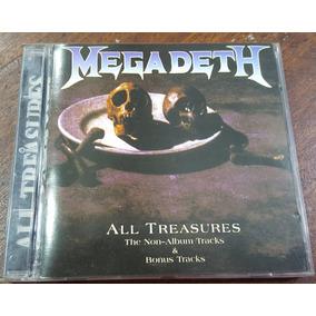 Megadeth - All Treasures Cd Metallica Pantera Iron Maiden