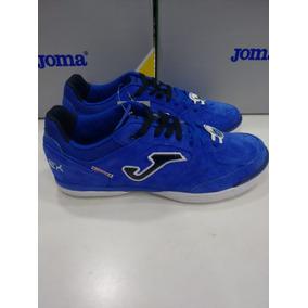 Tenis Futsal Joma Top Flex - Chuteiras de Futsal para Adultos Azul ... cb13549f0b038