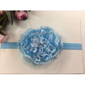 Bandita Diadema Flore Estrellas Shabby Chic Cristal Azul